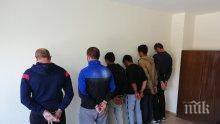 Бургаско почерня от полиция! 11 арестувани при спецакция