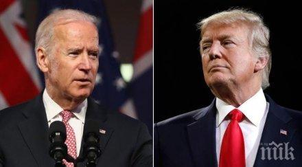 USA Today: Джо Байдън с минимална преднина пред Доналд Тръмп в президентската надпревара