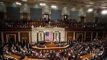 Конгресът на САЩ отхвърли предложението на Белия дом за бързо тестване за коронавирус на законодателите