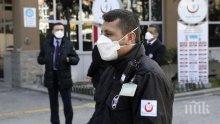 Броят на заразените с коронавируса в Турция спадна под 2 000 души за денонощие