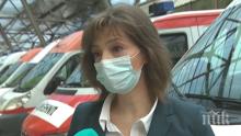 """Говорителят на """"Спешна помощ"""": Съпругът на починалата д-р Пандова също е заразен"""