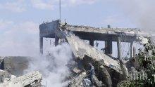 Сирийската противовъздушна отбрана отблъсква въздушна атака над Алепо
