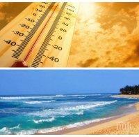 ЛЯТО ПРЕЗ МАЙ: Слънчев и горещ понеделник - ето къде ще става дори и за плаж