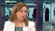 Зорница Русинова: Мярката 60/40 задържа безработицата с 5%