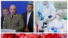 ПЪРВО В ПИК! Щабът изнесе най-новите данни за заразените с коронавирус - общият брой на болните достигна 1990, още две жертви