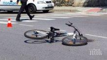 Камион помете велосипедист в Пловдив