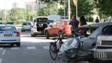 Вижте кое е пияното леке, помляло пет коли в Пловдив (СНИМКА)