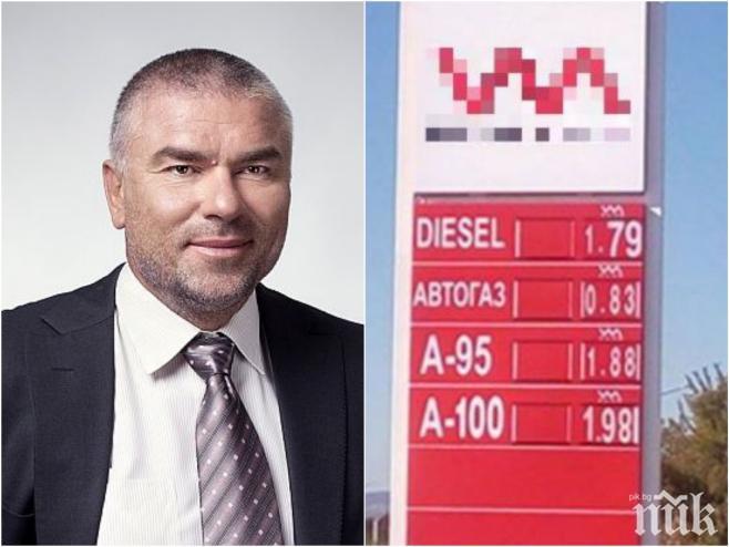 Марешки иска да ръководи проекта за веригата държавни бензиностанции