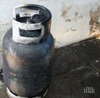 Жена е в болницата след адски взрив на газова бутилка в Пловдив