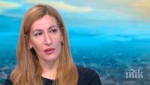 """Ангелкова благодари на """"Обединени патриоти"""" за добрите предложения в туризма"""