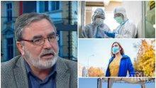ИЗВЪНРЕДНО В ПИК TV! Доц. Кунчев: 24 са новозаразените с коронавирус, двама са починали. Ваксина в света още няма и не разбирам защо у нас протестират срещу нея (ВИДЕО/ОБНОВЕНА)