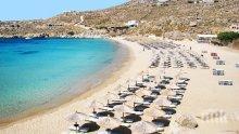 Адска жега в Гърция - плажовете са пълни