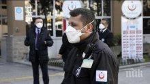 Нови 1 158 заразени с коронавируса за денонощие в Турция