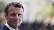 Президентът на Франция иска силна европейска координация в здравеопазването