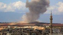 Терористи са обстрелвали населени пунктове в сирийската провинция Идлиб
