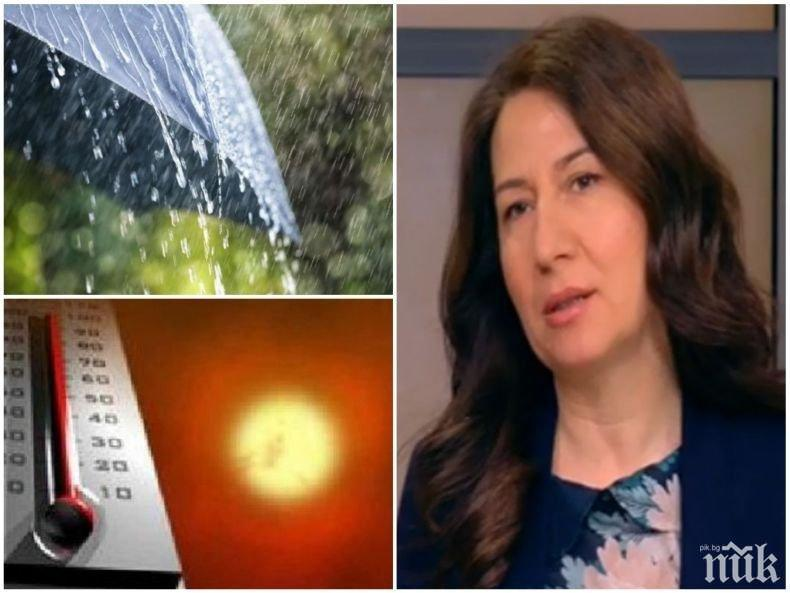 ПРОГНОЗА: Анастасия Стойчева проговори кога ще се нормализират температурите