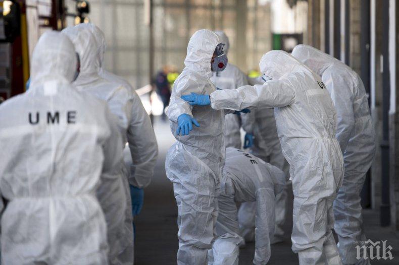 В Испания жертвите от коронавируса за първи път от два месеца са под 100