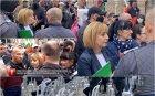 """Ива Николова след мелето срещу нея на """"седянката"""": Мая Манолова сама се ужаси от сборището си срещу Бойко Борисов. Агресивни старци и привърженици на Румен Радев споходиха протеста й"""
