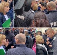 СКАНДАЛ В ПИК TV: Манолова бяга от въпросите на Ива Николова за парите на Васил Божков! Блъскат и удрят водещата в брутално меле - полицията нехае! Хората на провалената кметица се разкриха, викат: