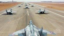 Първите четирима пилоти на F-16 заминават за САЩ през юни