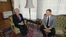 Илиан Тодоров получи благодарствено писмо от японския посланик Н. Пр. Ватанабе Масато