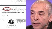 САМО В ПИК: Министерство на икономиката с официални разкрития за частпрома на Мангъров - ето как скандалният доцент лапнал близо 300 000 лв. от еврофондове (ДОКУМЕНТ)