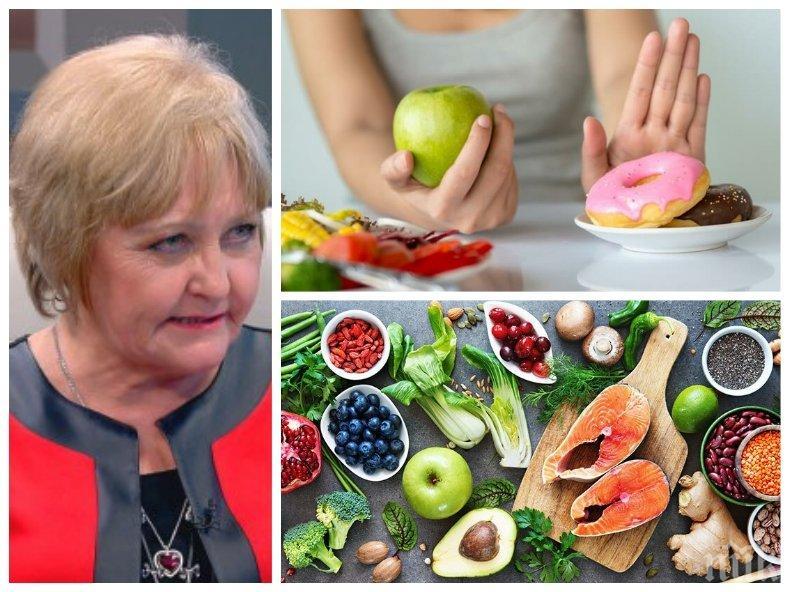 ВАЖНО: Проф. Донка Байкова разкри какъв хранителен режим може да ни излекува от депресия
