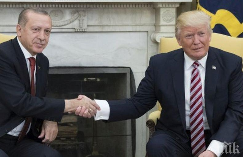 Ердоган и Тръмп в горещ разговор за Либия и Сирия