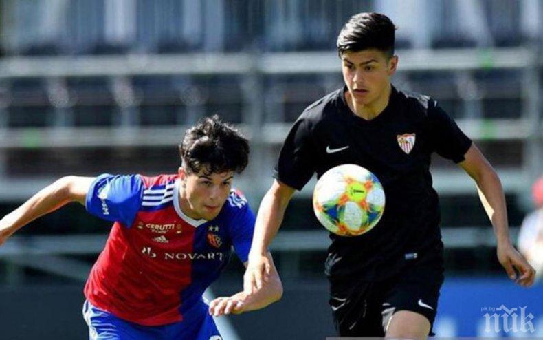 Барселона и Реал влизат в битка за тийнейджър