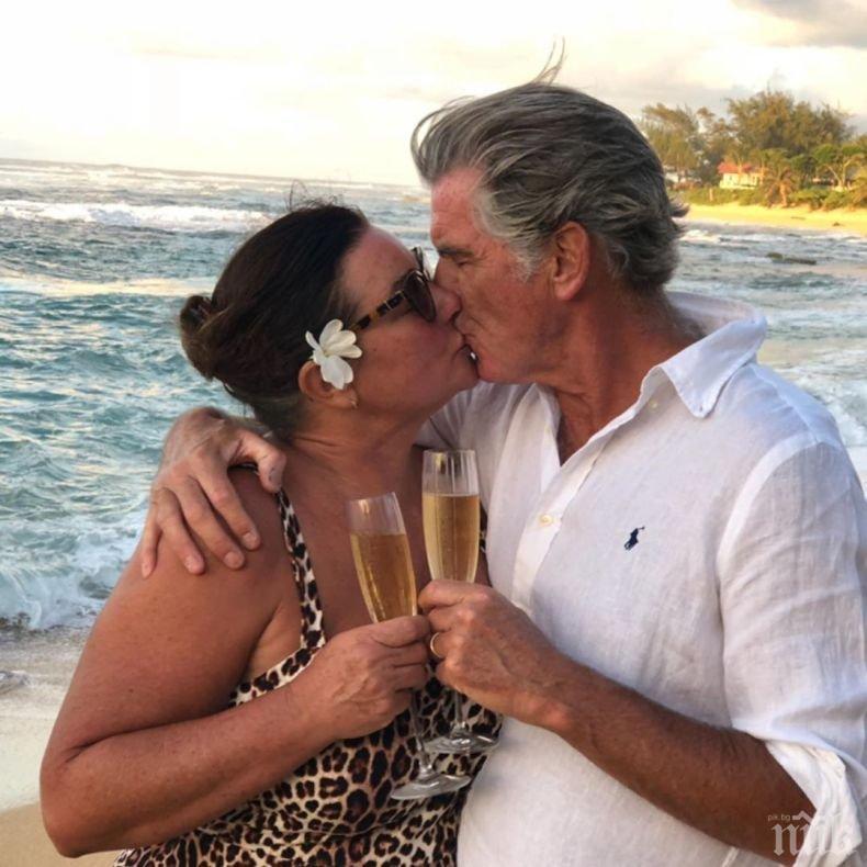 Агент 007 се обясни на жена си навръх 67-ия си рожден ден