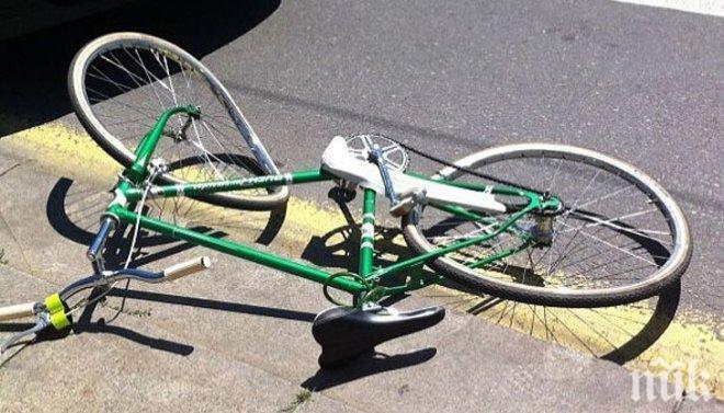 НЕЛЕП ИНЦИДЕНТ! 17-годишно момиче е с опасност за живота след падане с колело