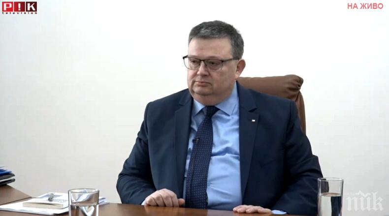 ИЗВЪНРЕДНО В ПИК TV: Цацаров подкрепи исканата оставка на Лозан Панов и проговори за запорите на Прокопиев и Иво Масларов (ВИДЕО)
