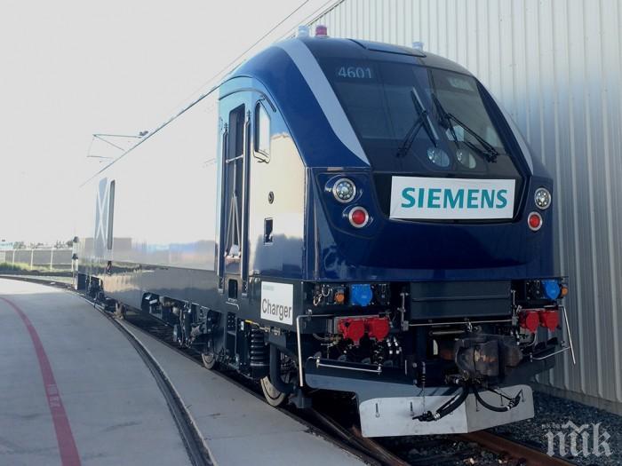 ИСТОРИЧЕСКО: БДЖ си поръча нови локомотиви за първи път от 33 години