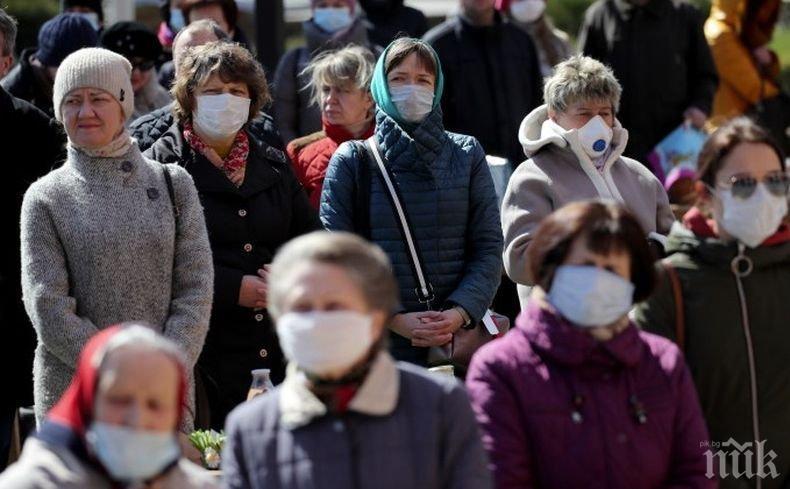 Над 35 000 са потвърдените случаи на заразени с коронавируса в Беларус