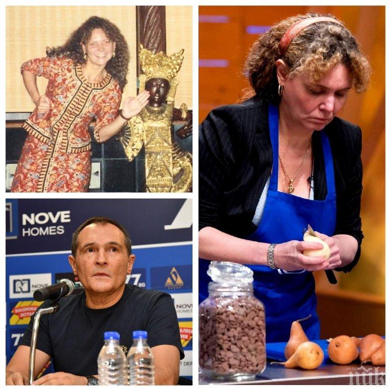 Васил Божков искал да направи своя любовница Мариела Нордел - устатата кулинарка го отрязала като кисела краставица