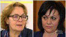 Политологът доц. Румяна Коларова попиля Корнелия Нинова: Игра хазартно и се провали - опозицията е в безпрецедентен срив