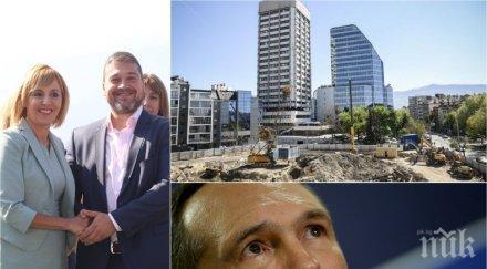 """Истината за 113-метровия """"Ай Тауър"""" - на Божков ли е строежът и защо го брани Мая Манолова"""
