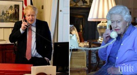 Кралица Елизабет разреши на Борис Джонсън да спортува в градините на Бъкингамския дворец