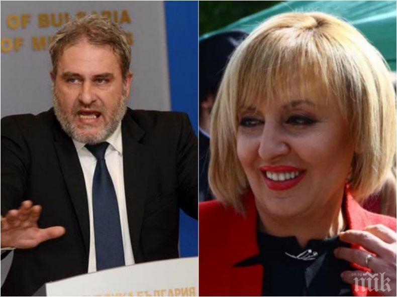 Културният министър Боил Банов избухна срещу Манолова: Обичам критиката, не глупостите и лъжите. Отвратително ми става, обръщат ми се червата