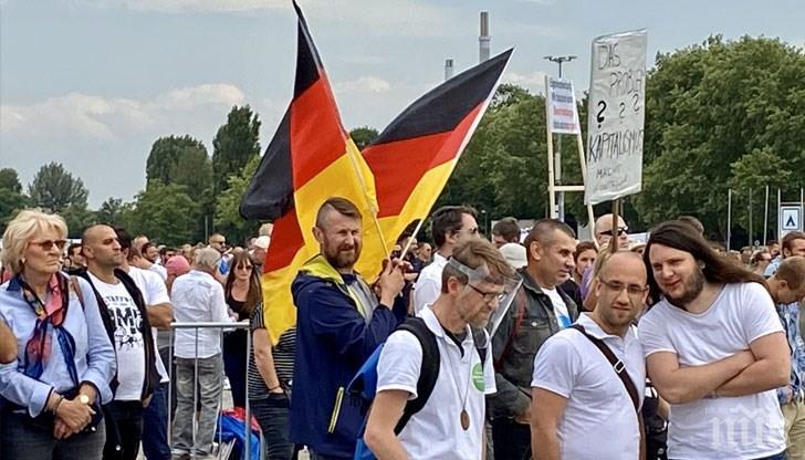 Нови протести в Германия заради режима COVID-19