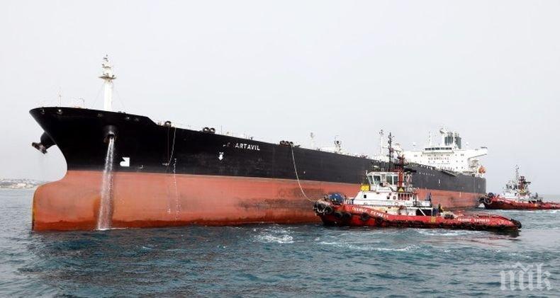 Във Венецуела пристигна първият танкер с петрол от Иран