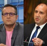 Харизанов с мощен удар по Румен Радев: Президентът не е в ролята на политическа девственица, тежко неадекватен и безпомощен е. Нинова е опозиция на самата себе си, само с чистачката не се е скарала
