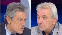 ИСКРИ В ЕФИРА! Политолозите Антоний Гълъбов и Росен Карадимов в спор за скандала с боклука