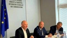 Росен Желязков обсъди с превозвачи мерките в сухопътния сектор