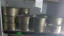 БАБХ и МВР разкриха нелегален обект за производство и търговия с храни в Елов дол