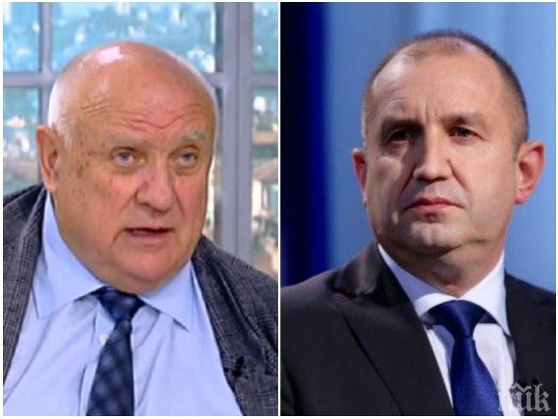 ЕКСКЛУЗИВНО В ПИК! Топ юристът Марин Марковски остър към президента: Той наруши конституцията - свещената книга на държавността