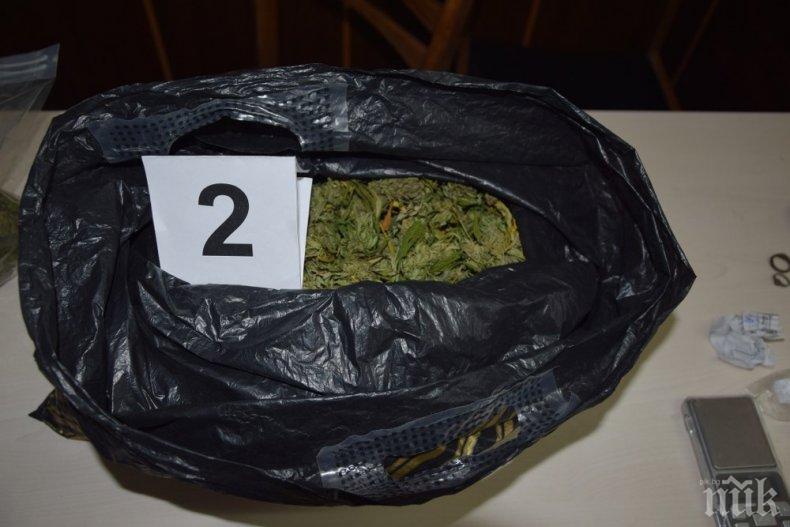 Търговец на марихуана от Варна влиза в затвора