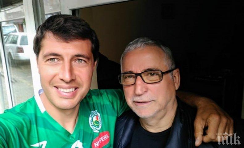 Футболният общественик Кирил Евтимов: Порточанов не е за подценяване като кандидат президент на БФС, ентусиазиран е...