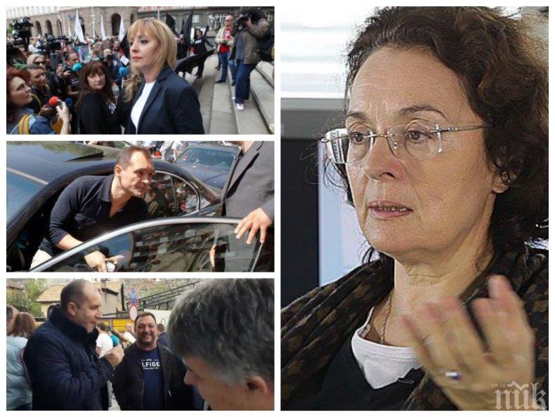 Румяна Коларова разкри защо Божков няма да успее в опитите си да дестабилизира държавата, в какво е първа Манолова и защо е смешен Румен Радев