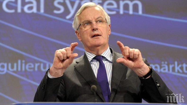 Мишел Барние предупреди Борис Джонсън: Ако не спазите обещанията си, напускате ЕС без сделка